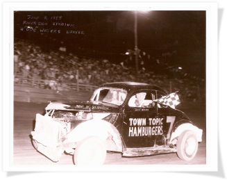 Town Topic Hamburger Race Car
